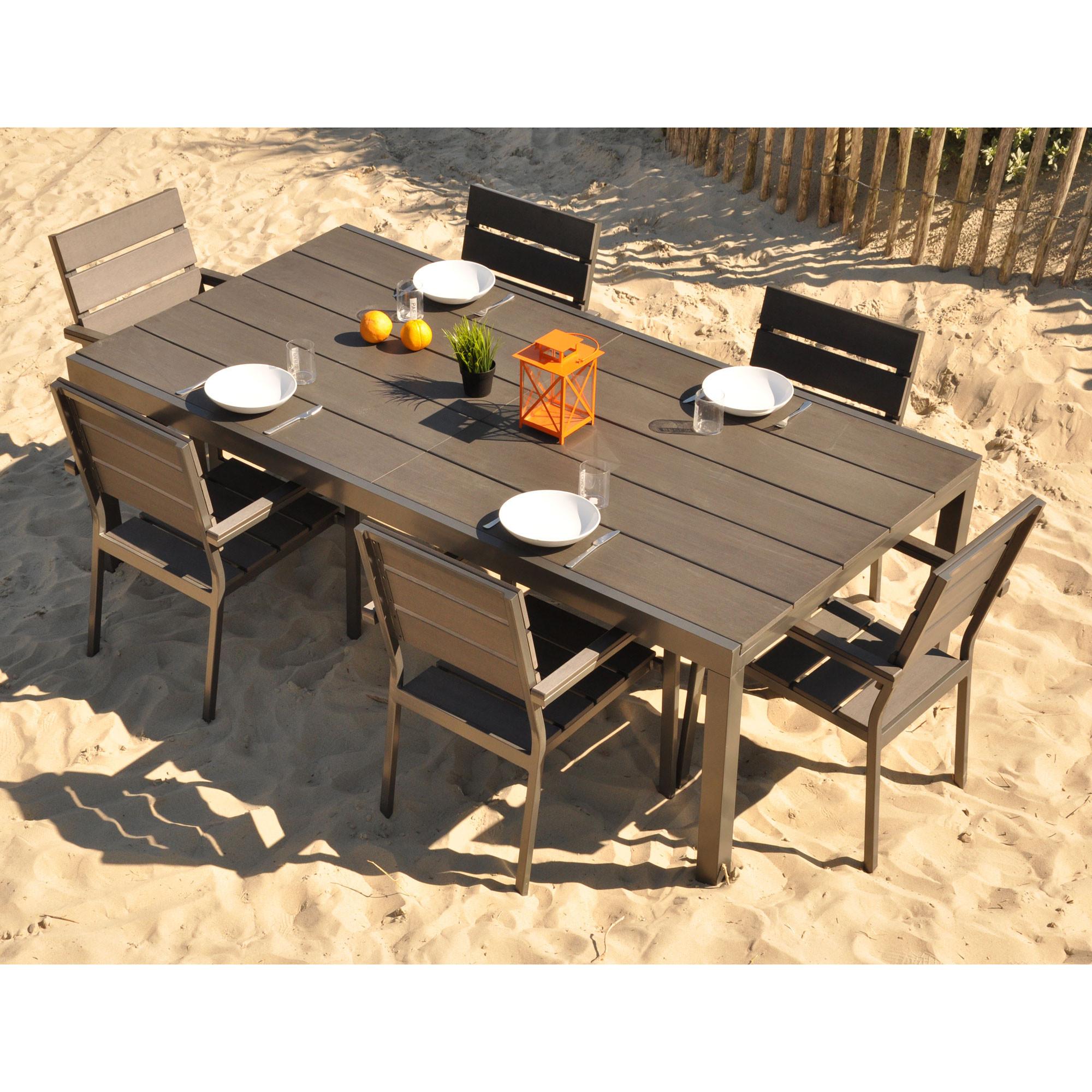 Table salon de jardin plastique leclerc - Mailleraye.fr jardin