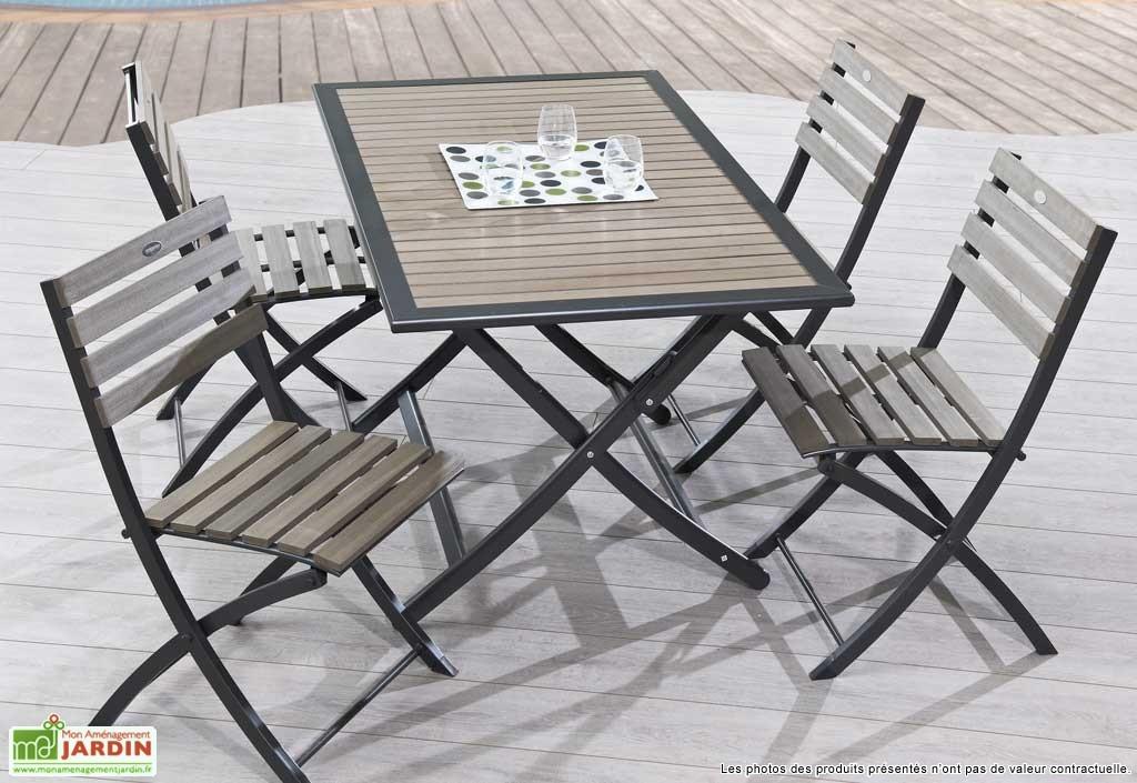 Table de jardin en promotion