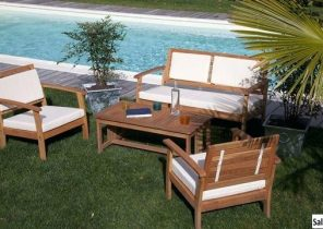Table de salon de jardin discount - Mailleraye.fr jardin