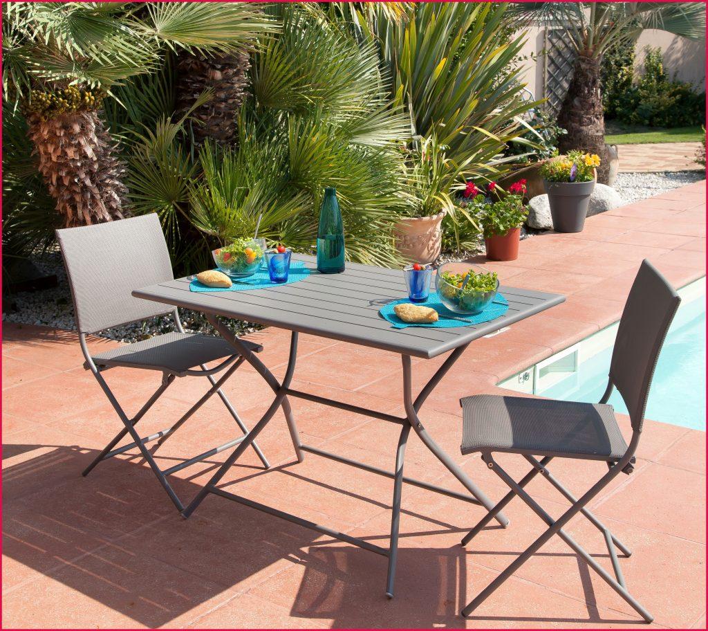 Beautiful Table De Jardin Avec Rallonge Truffaut Photos - House ...