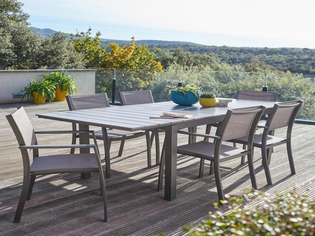 Table de salon de jardin - Mailleraye.fr jardin