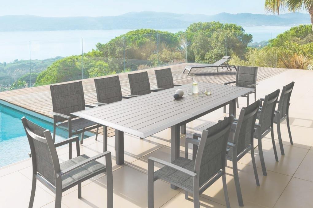 Table salon de jardin aluminium hesperide - Mailleraye.fr jardin