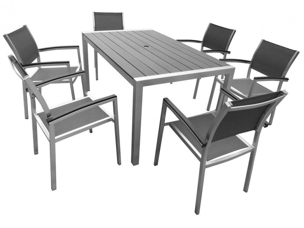 Table jardin metal - Mailleraye.fr jardin