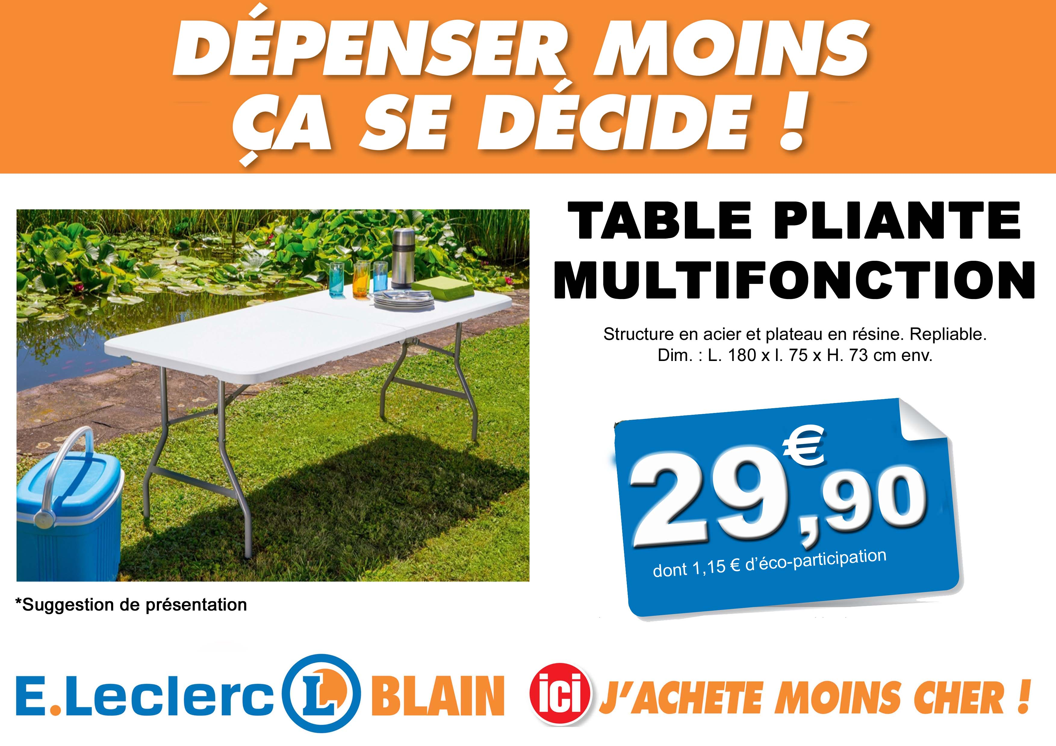 Promo salon de jardin e.leclerc - Mailleraye.fr jardin