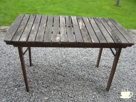 Salon de jardin en teck Ecograde© Fuji, table extensible ...