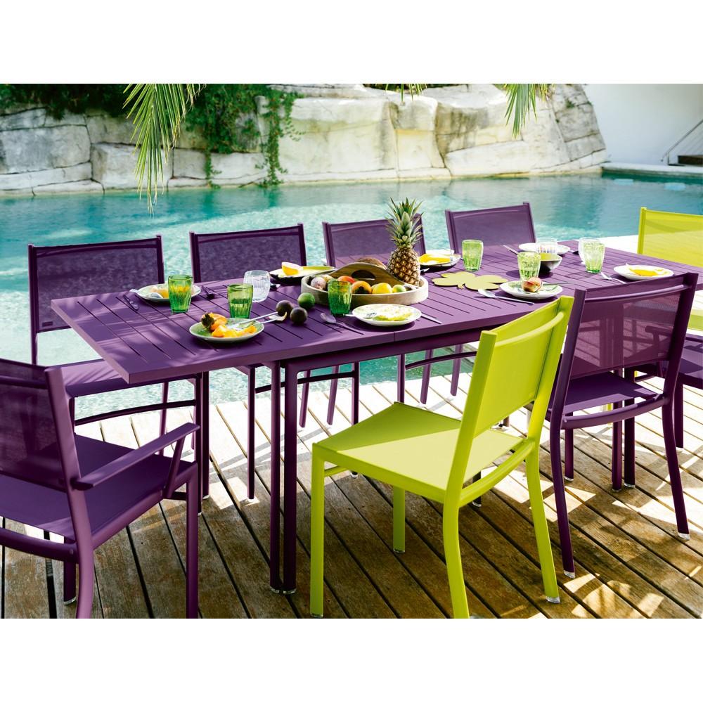 table de salon de jardin fermob jardin. Black Bedroom Furniture Sets. Home Design Ideas