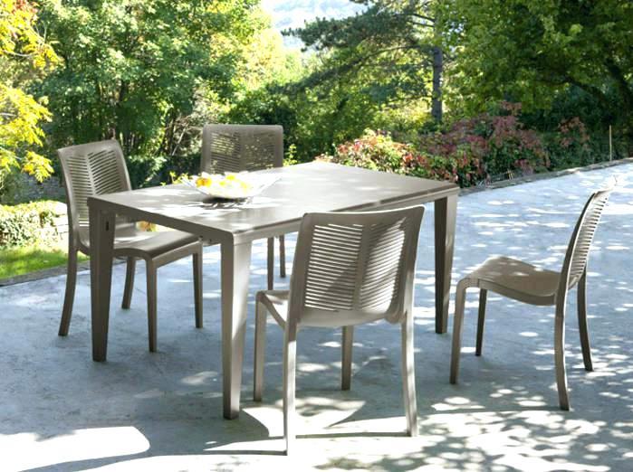 Table et chaise jardin pas cher