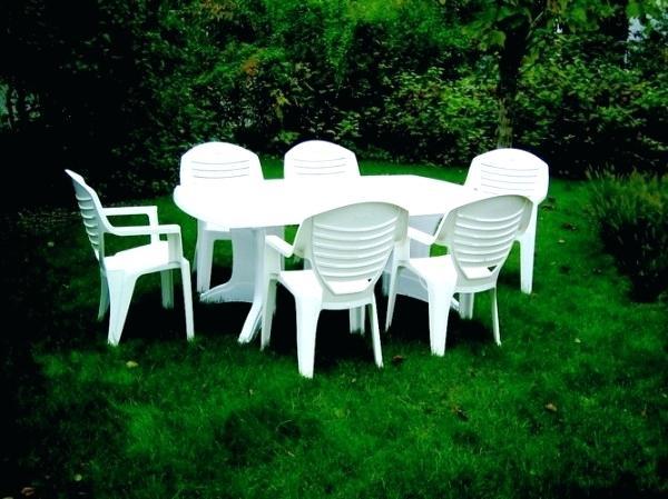 Salon de jardin plastique blanc - Mailleraye.fr jardin