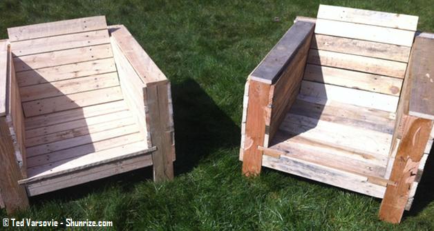 Plan salon de jardin en palette bois - Mailleraye.fr jardin