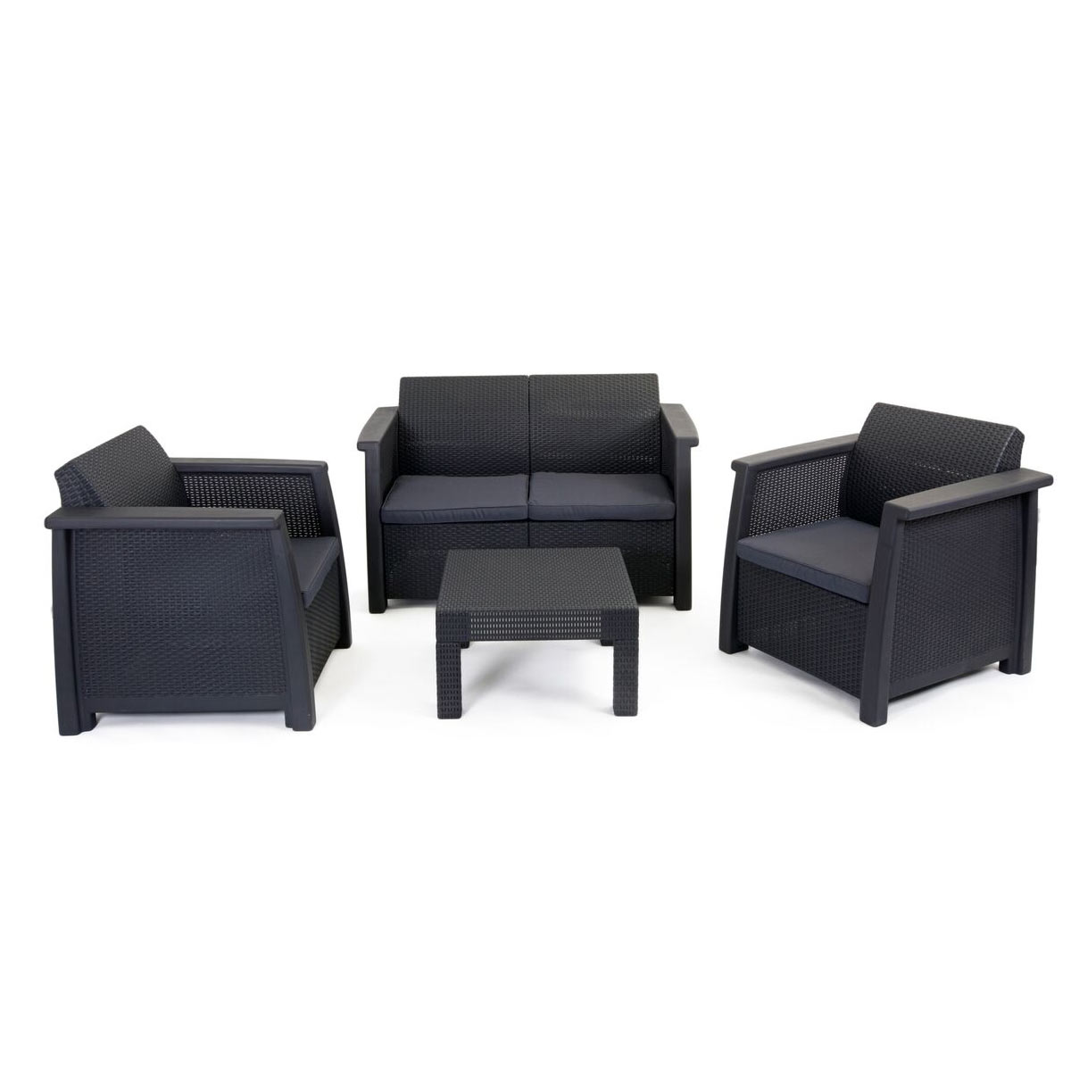 Salon de jardin lounge set