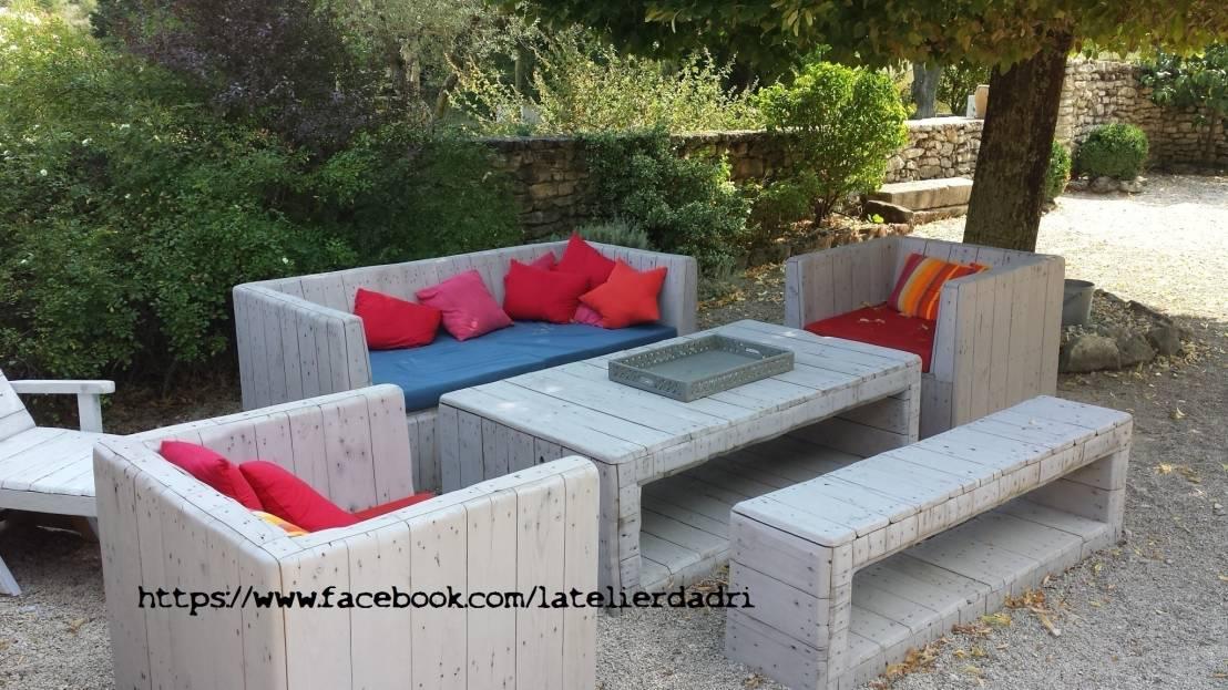 Salon de jardin teck design - Mailleraye.fr jardin