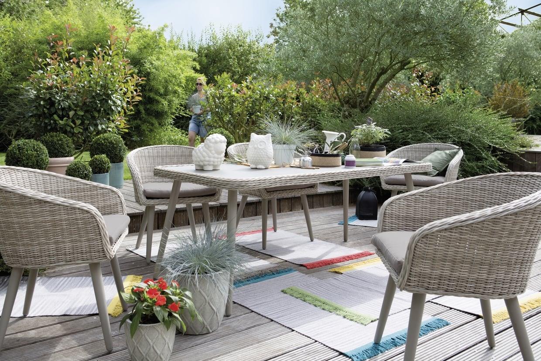 Salon de jardin rimini jardiland
