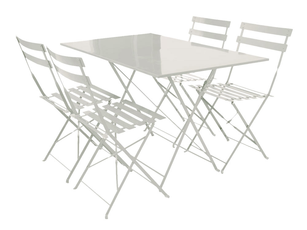 Mobilier de jardin table pliante