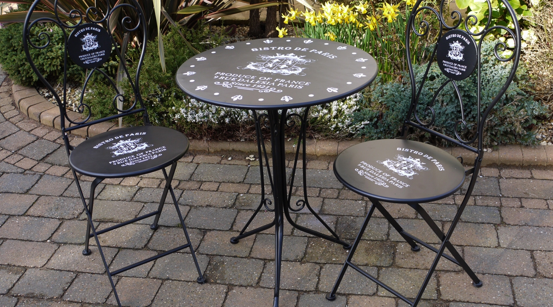 Mobilier de jardin table bistrot - Mailleraye.fr jardin