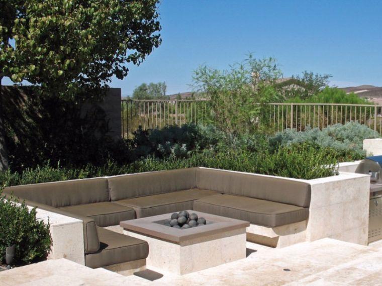 Salon de jardin moderne design