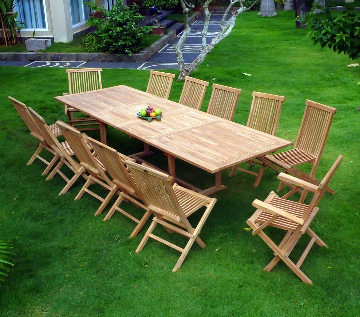 Salon En Teck De Jardin Borneo xBodCe