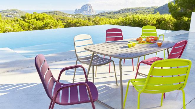 Beautiful Salon De Jardin Design Colore Photos - House Design ...