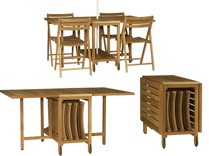 Salon de jardin chaise pliante - Mailleraye.fr jardin