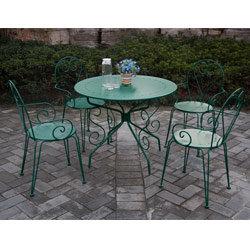 Salon de jardin couleur vert - Mailleraye.fr jardin