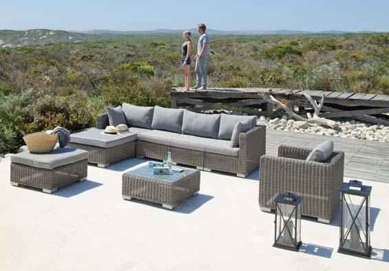 Table de salon de jardin maison du monde