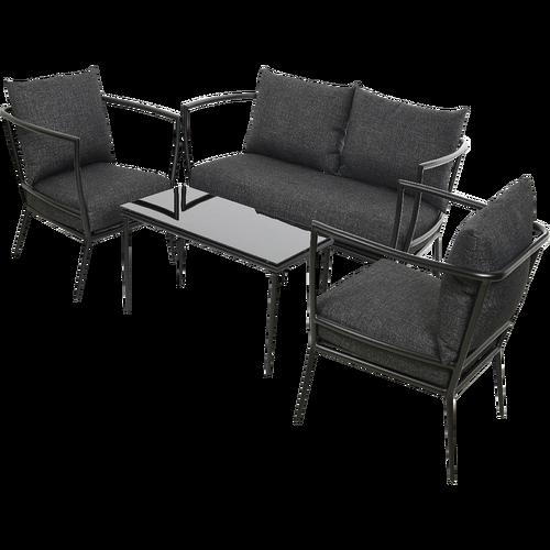 salon de jardin blooma bellco jardin. Black Bedroom Furniture Sets. Home Design Ideas