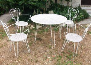 Salon de jardin robot mont noir - Mailleraye.fr jardin
