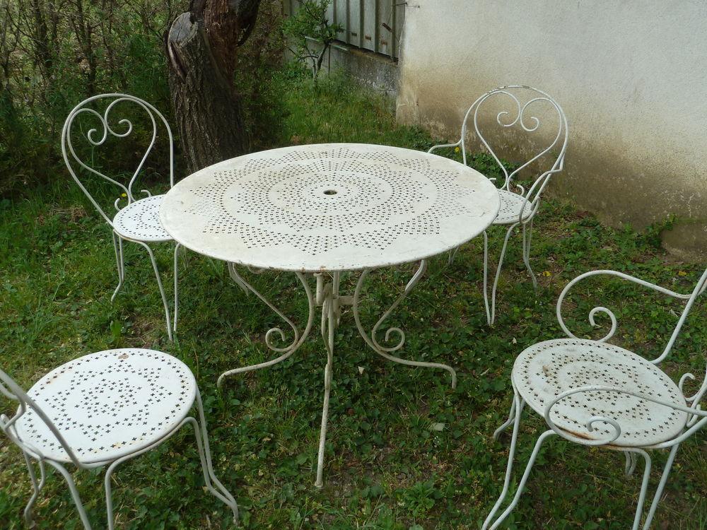 Salon de jardin fer occasion - Mailleraye.fr jardin