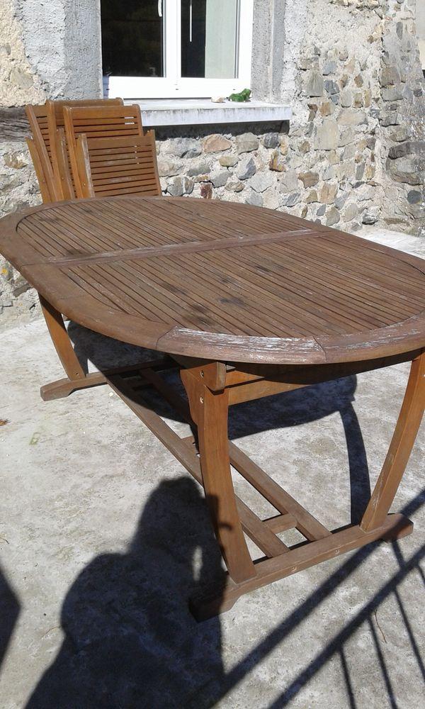 Emejing Table De Jardin En Bois Occasion Pictures - House Design ...