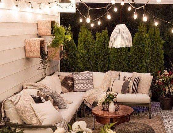 Idee pour salon de jardin