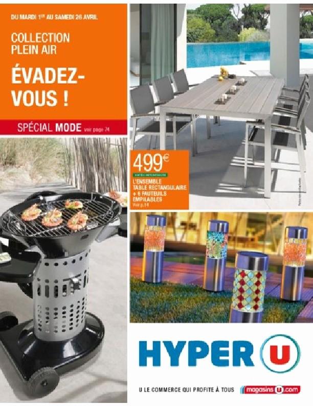 Salon de jardin a hyper u - Mailleraye.fr jardin