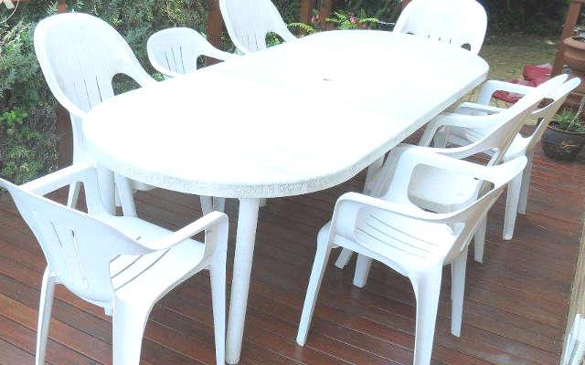 Fauteuil de salon de jardin en plastique - Mailleraye.fr jardin