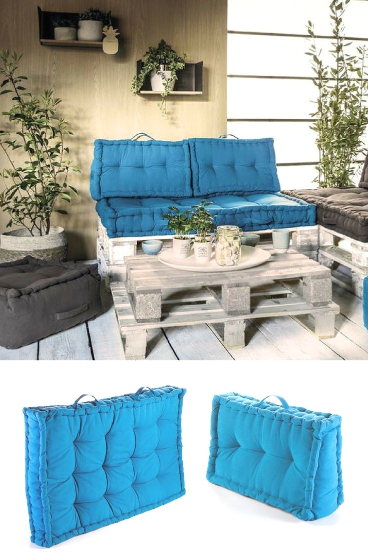 Awesome Coussin Pour Salon De Jardin Palette Photos - House Design ...