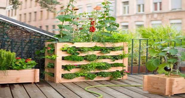 Salon de jardin pour balcon en palette - Mailleraye.fr jardin