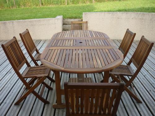 Comment entretenir son salon de jardin en bois - Mailleraye ...