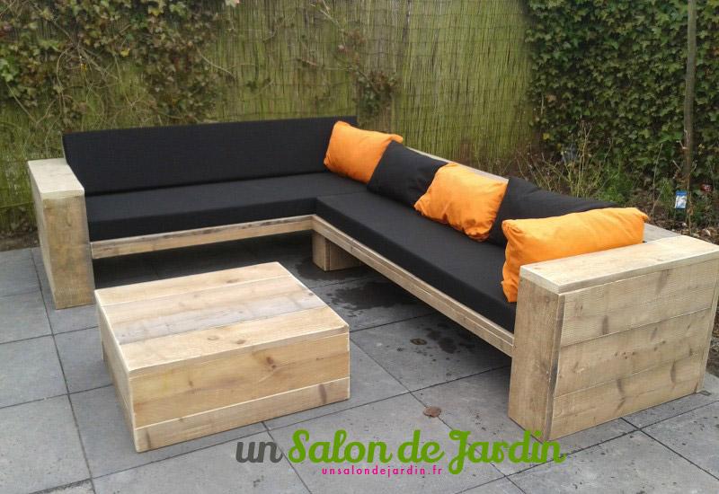 Idee pour faire un salon de jardin - Mailleraye.fr jardin