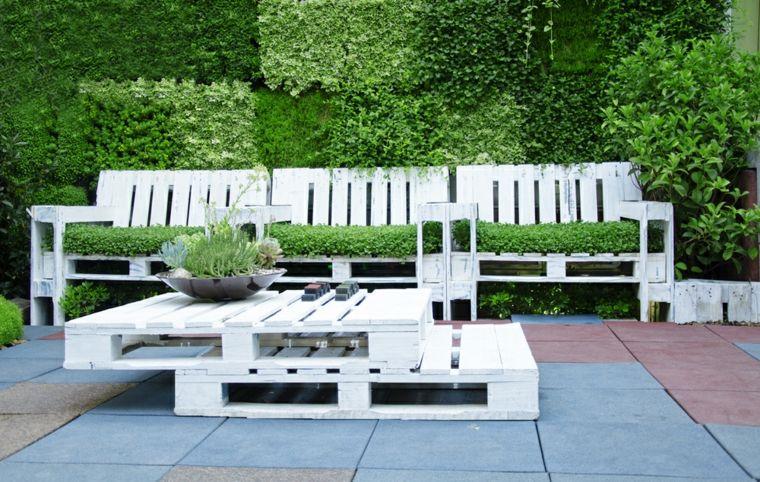 Comment rendre blanc un salon de jardin - Mailleraye.fr jardin