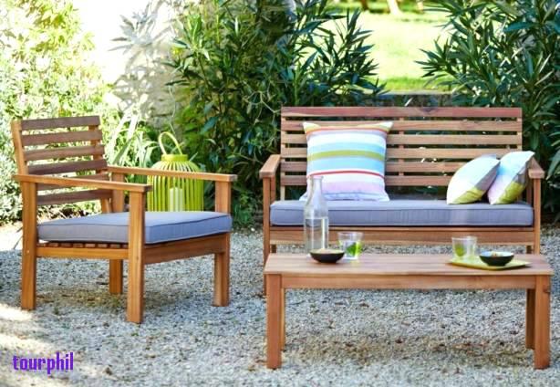 Salon de jardin en bois la redoute - Mailleraye.fr jardin