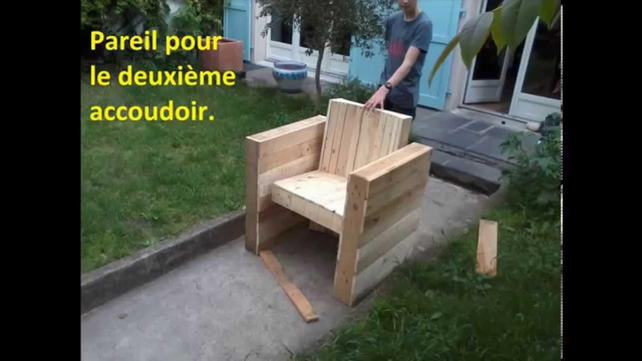 Comment fabriquer salon de jardin en bois - Mailleraye.fr jardin