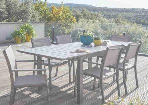 Salon de jardin antibes naterial gris - Mailleraye.fr jardin