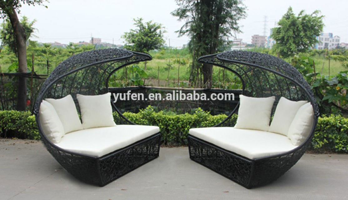 mobilier de jardin lit exterieur jardin. Black Bedroom Furniture Sets. Home Design Ideas