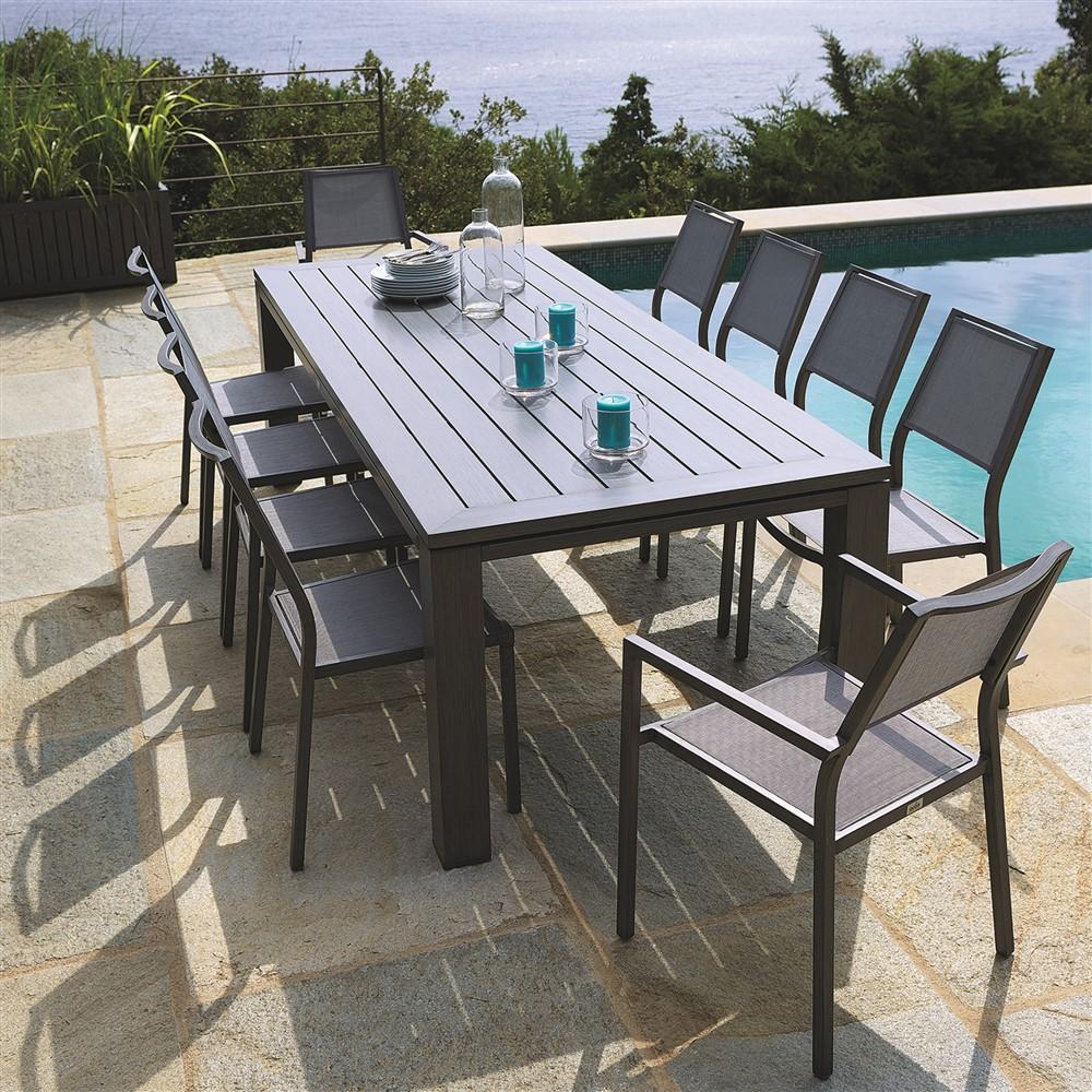 Solde salon de jardin monsieur bricolage - Mailleraye.fr jardin