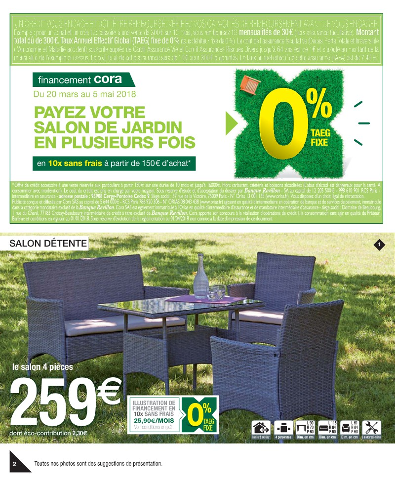 Salon de jardin cora reims - Mailleraye.fr jardin
