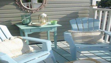 Renover une table de salon de jardin en plastique ...