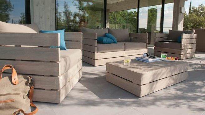 Emejing Salon De Jardin Bois Castorama Ideas - House Design ...