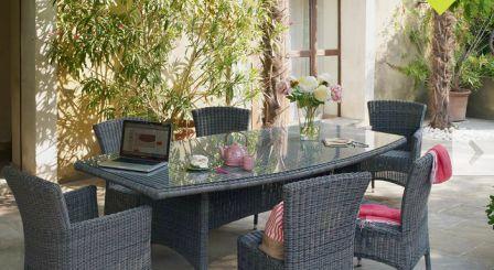 Salon de jardin jardilande
