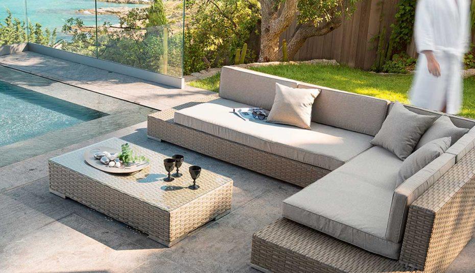 salon de jardin rotin synth tique leroy merlin jardin. Black Bedroom Furniture Sets. Home Design Ideas
