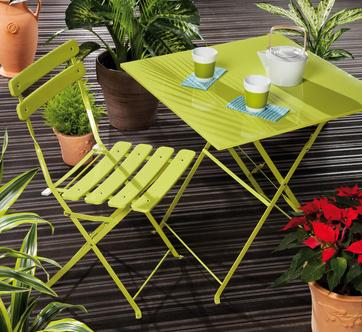 Peindre un salon de jardin en fer - Mailleraye.fr jardin