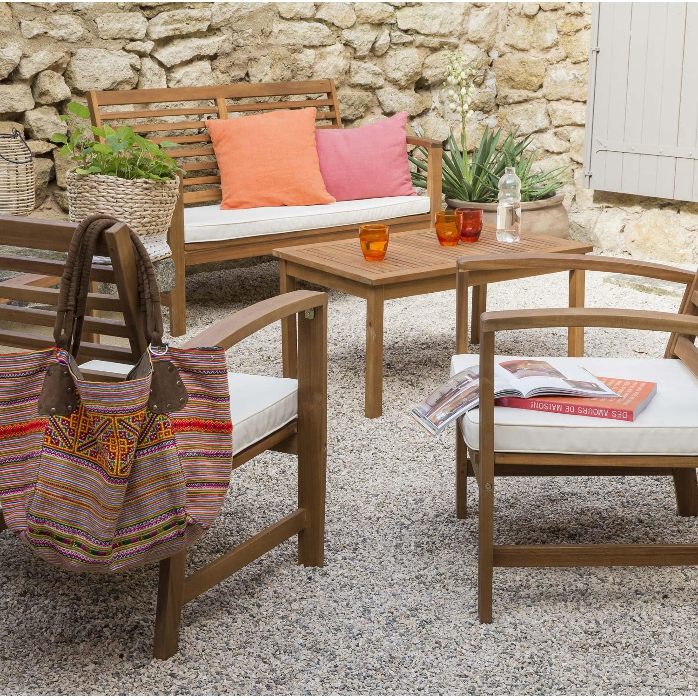 Salon de jardin robinier leroy merlin - Mailleraye.fr jardin