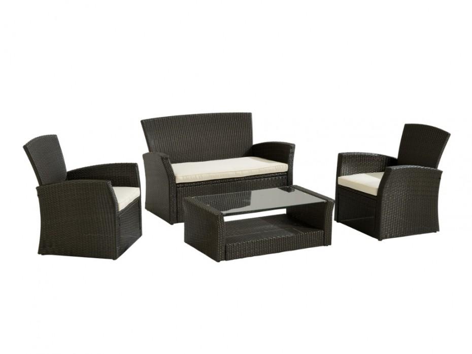Salon de jardin fauteuil canape