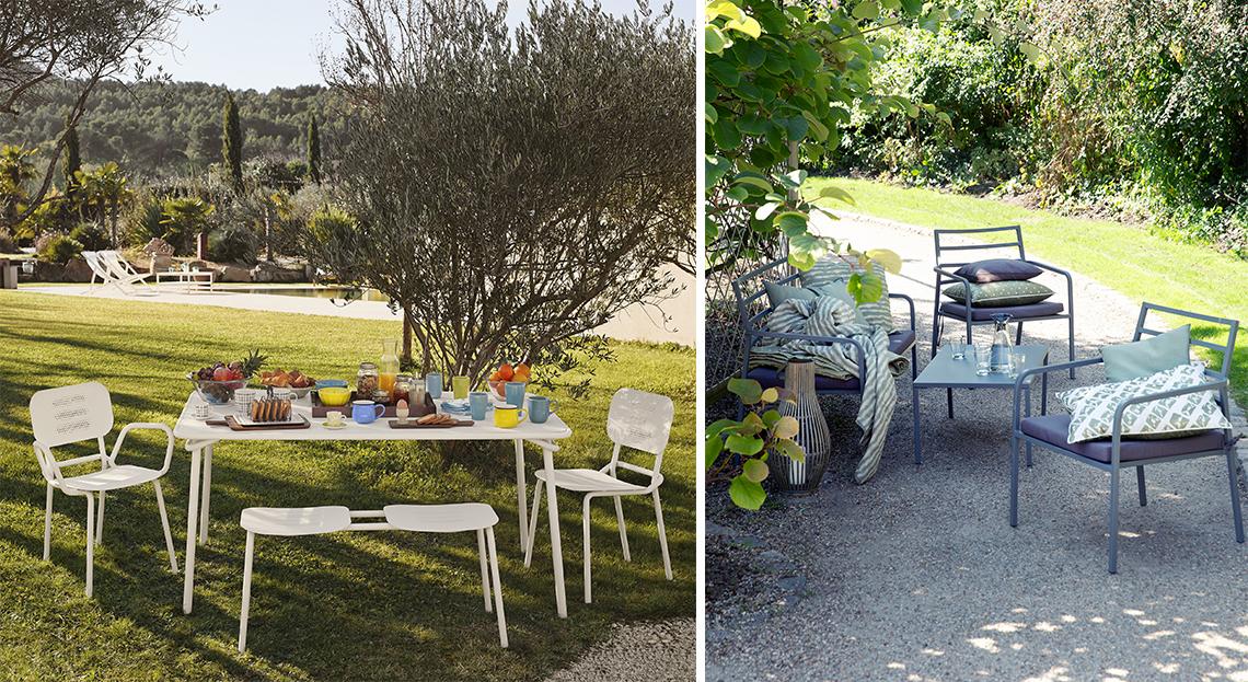 Salon de jardin osier maison du monde - Mailleraye.fr jardin